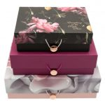 Ted Baker Womens Porcelain Rose Storage Boxes Set