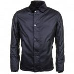 Barbour Steve McQueen Collection Mens Navy Sandford Waxed Jacket