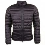 Barbour Steve McQueen Collection Mens Black Baffle Quilted Jacket