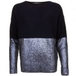Replay Womens Black Foil Detail Jumper