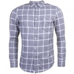 Diesel Mens Grey S-Tas Check L/s Shirt