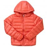 Pyrenex Girls Salmon Spoutnic Hooded Shiny Jacket (8yr+)