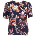 Y.A.S Womens Night Sky Yaslilja Floral Top