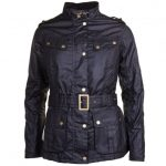 Barbour International Womens Black Goldwing Waxed Jacket