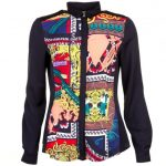 Versace Jeans Womens Assorted Patterned L/s Shirt