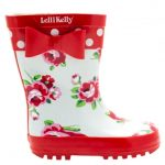 Lelli Kelly Girls Red Rain 1 Wellington Boots (24-35)