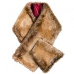 Dubarry Womens Chinchilla Altamont Faux Fur Wrap