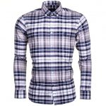 Henri Lloyd Mens Indigo Abberton Check Regular Fit L/s Shirt