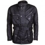 Barbour Steve McQueen Collection Mens Black A7 V2 Waxed Jacket
