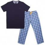 Ted Baker Mens Navy Aaron Pyjamas Set