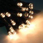 Festive Fairy Lights, Multi-Function, 100 Warm White LED, 6m