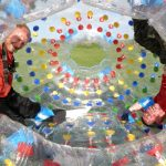 Zorbing for Two Kent