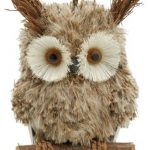 17cm Hanging Owl Sitting on Perch