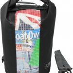 OverBoard Waterproof Dry Tube Bag with Window 30 Litres – Black