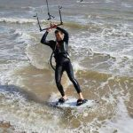 Kitesurfing in Essex