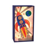 Children's Rocket Battery Light Box