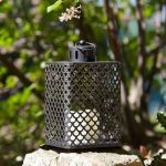 Outdoor Battery Cairene Candle Lantern, 2 Pack