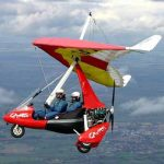 Microlights at Sywell Aerodrome