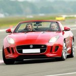 F Type Jag Driving