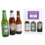 Personalised Beer O'Clock 3 Lager Gift