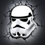 NEW Star Wars Stormtrooper 3D LED Battery Wall Deco Night Light