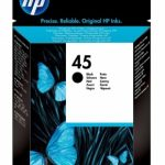 Genuine Black Low Capacity HP45 Ink Cartridge – 51645GE