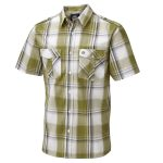 Altus Mens Shirt Khaki Check