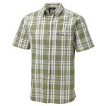 Avon 2 Mens Shirt Light Khaki Check