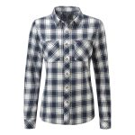 Bailey Womens Shirt Navy Check