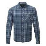 Baker Mens Shirt Navy Check