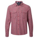 Bernie Mens Shirt Red Check
