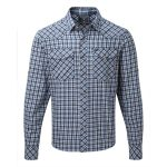 Bernie Mens Shirt Royal Check