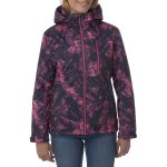 Bliss Womens Milatex Jacket Pink Camo
