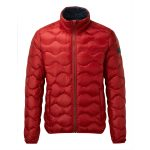 Maine Mens Down Jacket Chilli Red