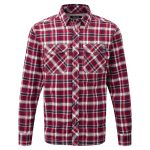 Malone Mens Deluxe Shirt Rio Red