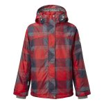 Scoot Kids Milatex Ski Jacket Red Check
