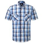 Severn Mens Tcz Cotton Shirt Blue Haze
