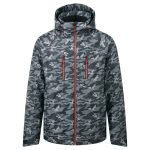 Shift Mens Milatex Ski Jacket Black Camo