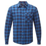Timber Mens Tcz Cotton Shirt New Blue Check