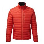 Zenon Mens Down Jacket Fire