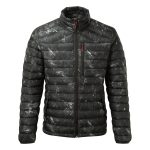 Zenon Mens Down Jacket Black Camo