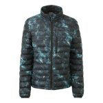 Zenon Womens Down Jacket Sky Camo