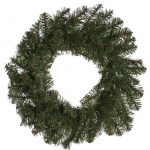 50cm Green Indoor Canadian Pine Wreath