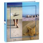 Hama Sea Shells Bookbound Photo Album Blue – 29x32cm/300 Photos