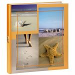 Hama Sea Shells Bookbound Photo Album Beige – 29x32cm/300 Photos