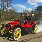 Vintage Steam Car Passenger Tour