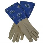 AGApanthus Pair of Leather Gardening Gloves