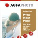AgfaPhoto A6 260gsm Professional Photo Inkjet Paper Glossy – 50 Sht