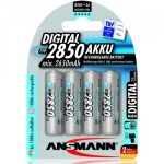 Ansmann AA 2850 mAh Rechargeable Battery – FOUR PACK