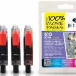 Brother LC-970/LC-1000 B/C/M/Y MULTIPACK Compatible Ink Cartridge by JetTec – B10Combi